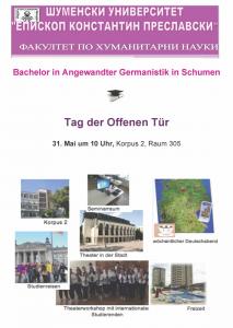 Uni Schumen_Tag der Offenen Tür