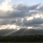 Обикновен ден в небето над Хавай