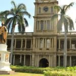 Крал Камекамеха- паметник в центъра на Хонолулу