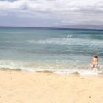 Златен плаж в Хавай